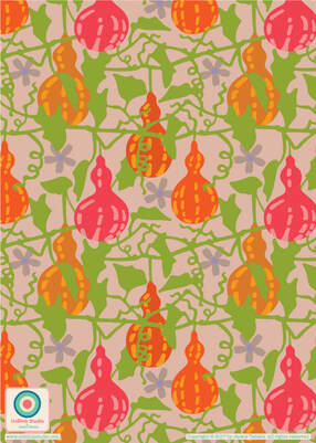 Tropical Pattern Design from UnBlink Studio by Jackie Tahara