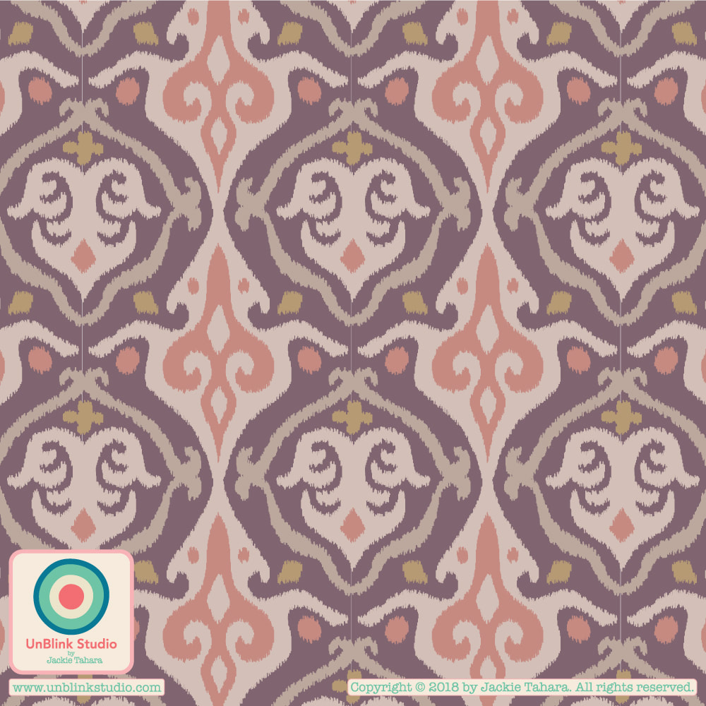 Abstract Pattern Design from UnBlink Studio by Jackie Tahara