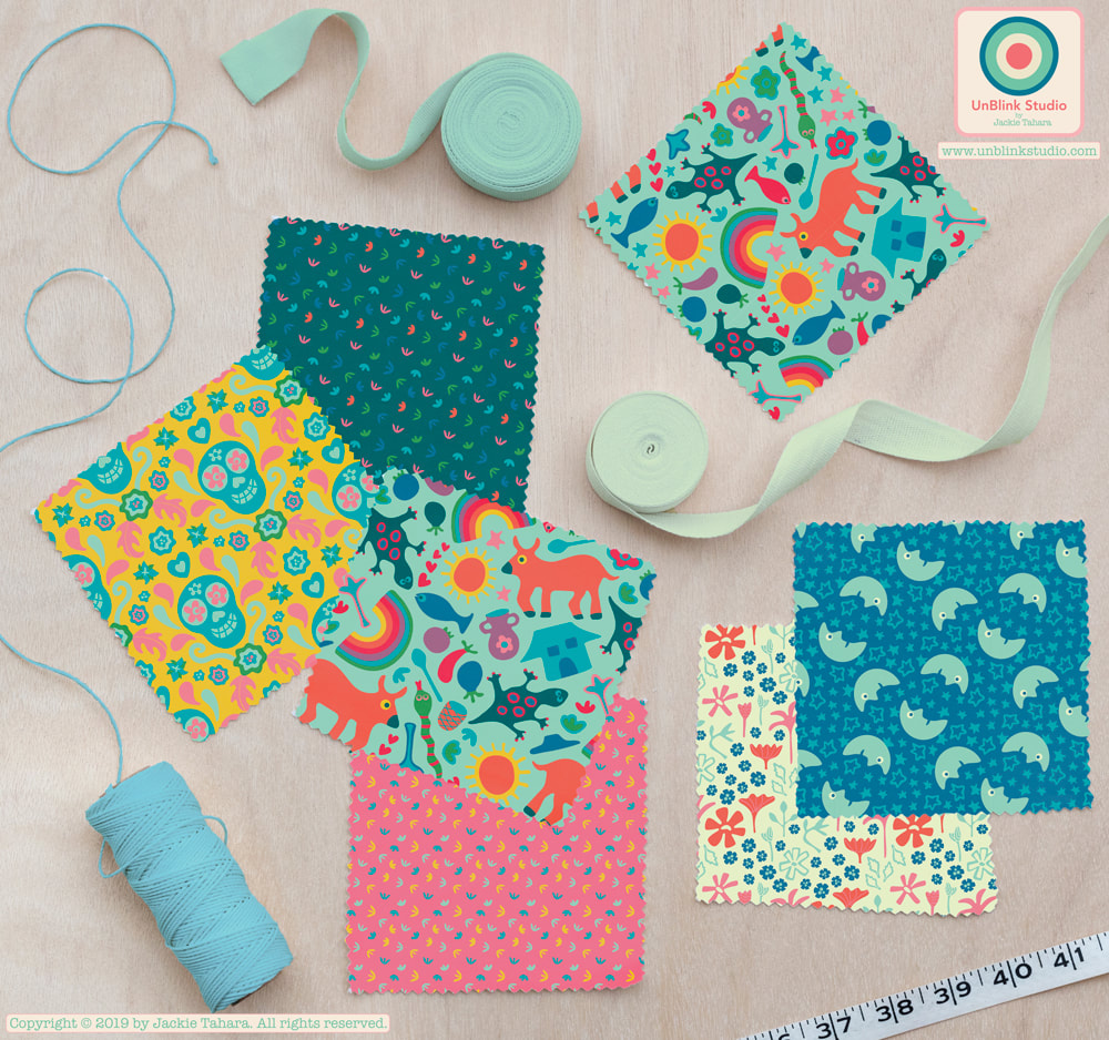 Print and Pattern Design from UnBlink Studio by Jackie Tahara