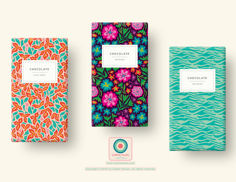 Floral Print and Pattern Design from UnBlink Studio by Jackie Tahara